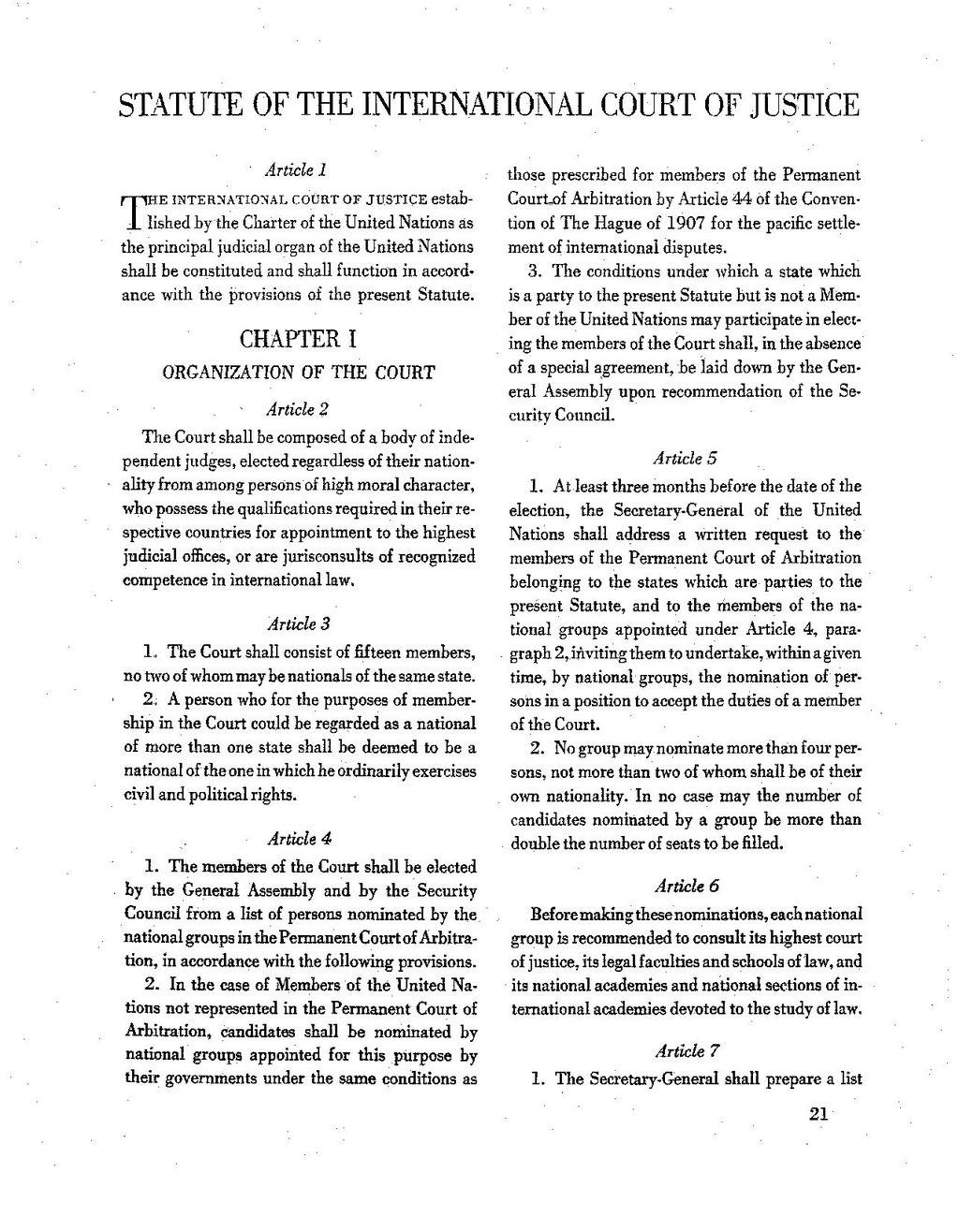 Icj Statute Pdf