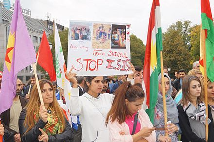 Kurdish demonstration against ISIS in Norway, 12 May 2016 UngKurd demonstrasjon mot IS .jpg