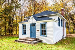Union Grove Schoolhouse - Union Grove one-room schoolhouse, Dickens, Maryland