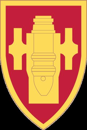 United States Army Field Artillery School - Image: United States Army Field Artillery School SSI