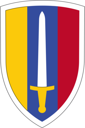 United States Army Vietnam - USA Vietnam Shoulder Patch