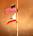United States Flag and California Flag (3869000495).jpg