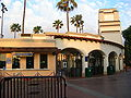 Universal Studios Hollywood main entrance side after hours.JPG