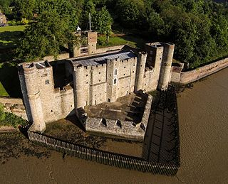 Upnor Castle fort located on the River Medway in Kent