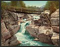 Upper Falls of the Ammonoosuc, White Mountains-LCCN2008679516.jpg