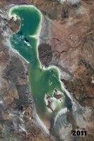 File:Urmia lake drought.webm