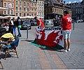 V.Ascq supporters UEFA 2016 du Pays de Galles Gd Place de Lille (2).jpg