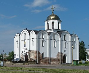 Principality of Vitebsk - Church of Annunciation, erected in Vitebsk in the 12th century
