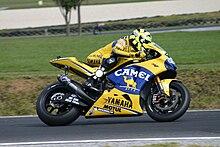 Rossi al Gran Premio d'Australia 2006