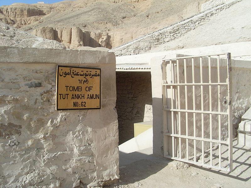 tumba de Tutankhamón. Crédito: Wikimedia Commons