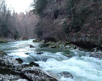 Bellegarde-sur-Valserine - The Valserine in winter