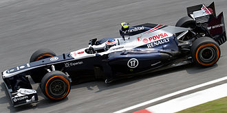 Valtteri Bottas - Bottas during practice at the 2013 Malaysian Grand Prix.