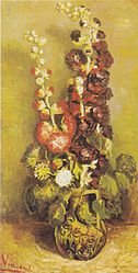 Vincent van Gogh: Vase with Musk-mallows