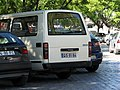 Van that had just been hit by another van - Faro - The Algarve, Portugal (1470404578).jpg