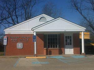 Vance, Mississippi - Image: Vancepostoffice