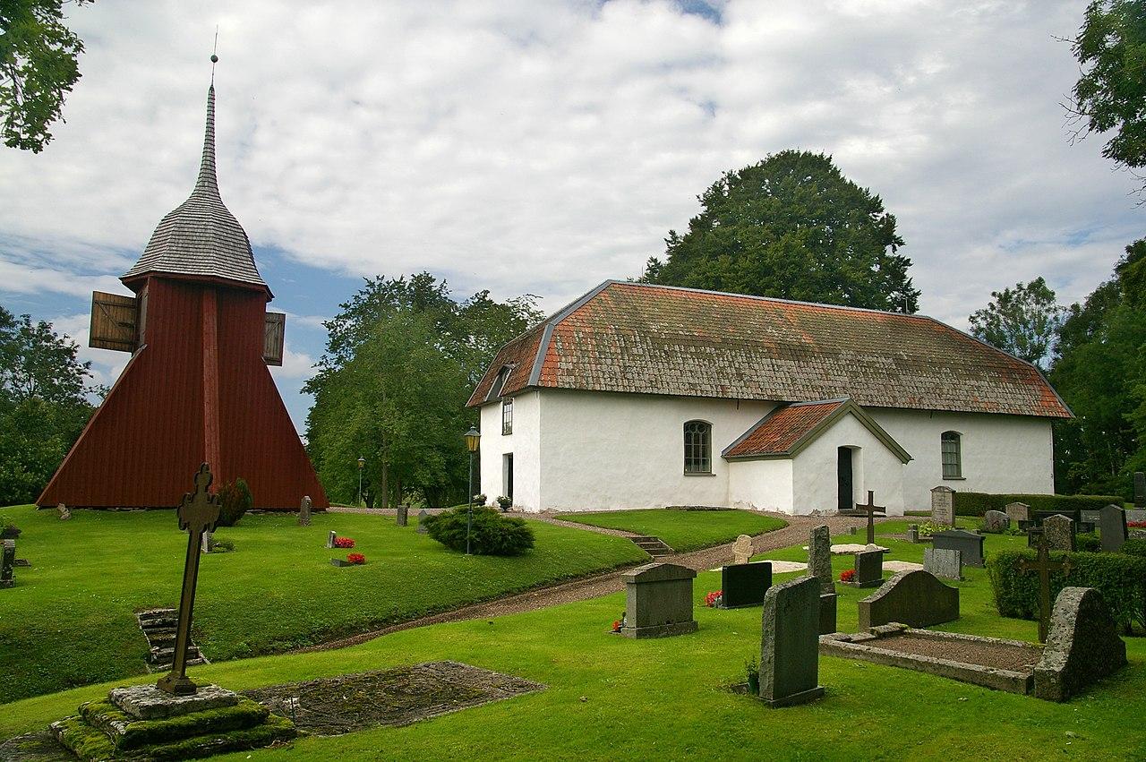 13.181.0977.00069.30315.7072 Dopfunt Tengene kyrka (mit Bildern