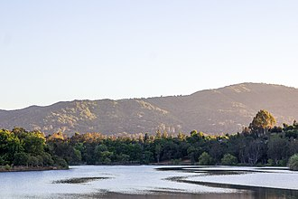 Vasona Lake County Park - The Vasona Reservoir (2014)