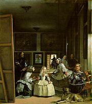 """""""Las Meninas"""" by Diego Velázquez, 1656–57"""