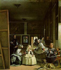 Ντιέγκο Βελάσκεθ, Las Meninas, 1656-1657, Λάδι σε μουσαμά, 318x276 εκ., Μαδρίτη, Πράδο