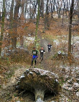 Fell running - A hill-running race in Prague