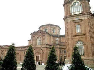 Palace of Venaria - Image: Venaria Reale Chiesa di Sant'Uberto IMG 1847