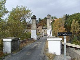 Bridge over the Durance