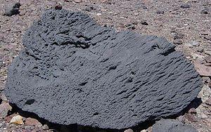 Ventifact - Image: Ventifact at Ventifact Ridge in Death Valley