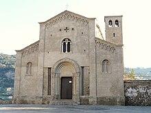 La chiesa di San Michele a Ventimiglia Alta