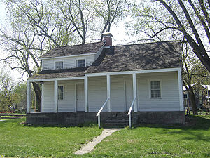 Moses Austin - Moses Austin house in Ste. Genevieve, Missouri, April 2007