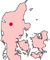 Viborg Denmark location map.png