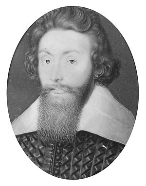 Richard Leveson (admiral) - Vice Admiral Sir Richard Leveson, from a portrait miniature by Isaac Oliver.