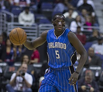 Victor Oladipo - Oladipo with the Magic in November 2014
