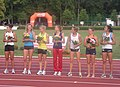 Victory ceremony W at TNT Fortuna Meeting in Kladno 16June2011 181.jpg