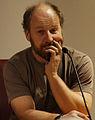 Vienna 2014-01-20 Roland Düringer in talk on his latest book, 'Leb' wohl, Schlaraffenland a.jpg