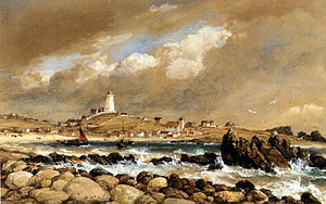 Edward William Cooke - ''View of St. Agnes'', Edward William Cooke
