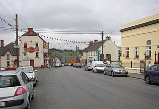 View down the main street, Borris, Co. Carlow - geograph.org.uk - 212823.jpg