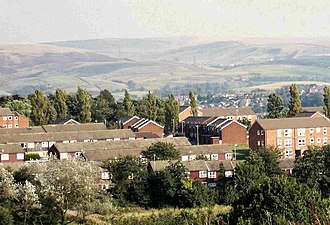Buckley, Greater Manchester - Image: View from Buckley Hall Prison