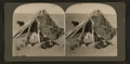 View of Navajos in front of their dwelling, from Robert N. Dennis collection of stereoscopic views.png