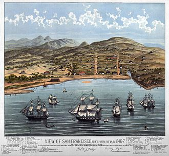 San Francisco - View of San Francisco 1846–47