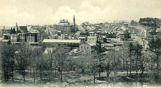 Southbridge, Massachusetts - View of Southbridge c. 1905