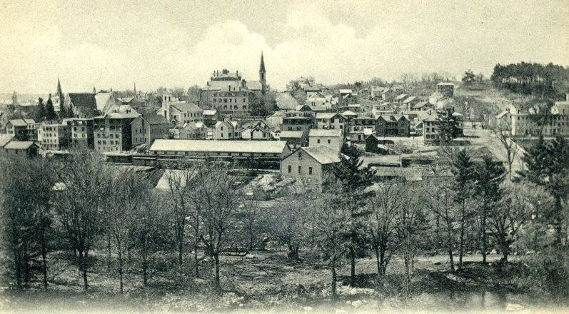View of Southbridge from Paige's Hill
