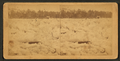 View of a freshet that partially flooded the town with ice and water and destroyed the bridge across the Kennebec River, from Robert N. Dennis collection of stereoscopic views.png