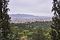View of the Hill of Areopagus from the Hill of Philopappos.jpg