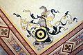 Villa pecori giraldi, sala degli stemmi di pietro alessio chini e dei suoi figli e nipoti, stemma albizzi.jpg