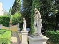 Villa schifanoia, giardino, seconda terrazza, scalinata 02.JPG
