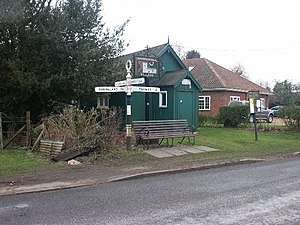 Arminghall - Image: Village hall, Arminghall geograph.org.uk 117939
