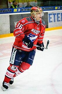 Ville Peltonen Finnish ice hockey player