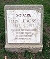 Villeurbanne - Square Félix Lebossé - Plaque (mars 2019).jpg