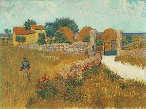 Vincent van Gogh - Farmhouse in Provence.jpg