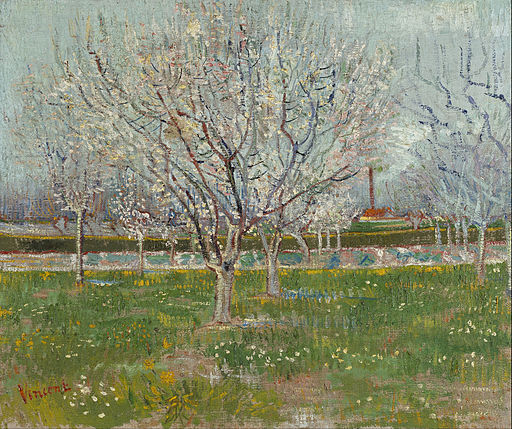 Vincent van Gogh - Orchard in Blossom (Plum Trees) - Google Art Project